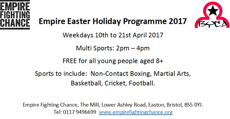 easter programme