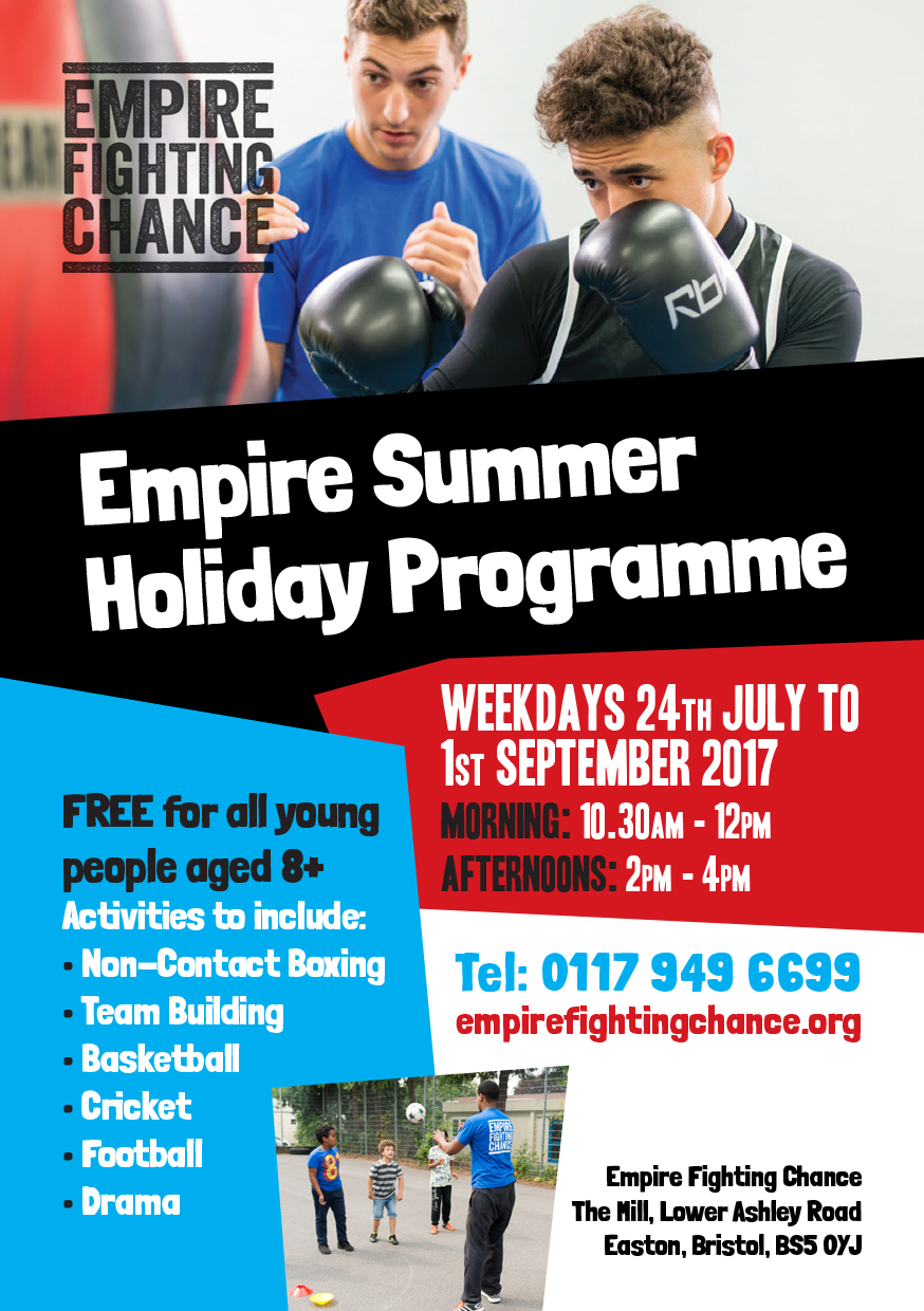Boxing Summer Holidays Flyer 2017 - 3-1 (002)
