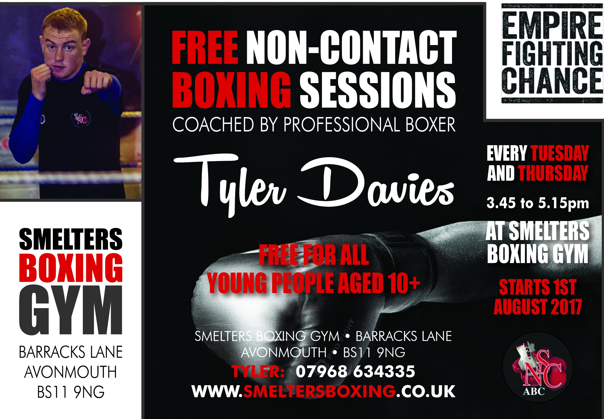 Smelters Boxing GymTyler Davies_Coaching Flyer_August 2017 (002)