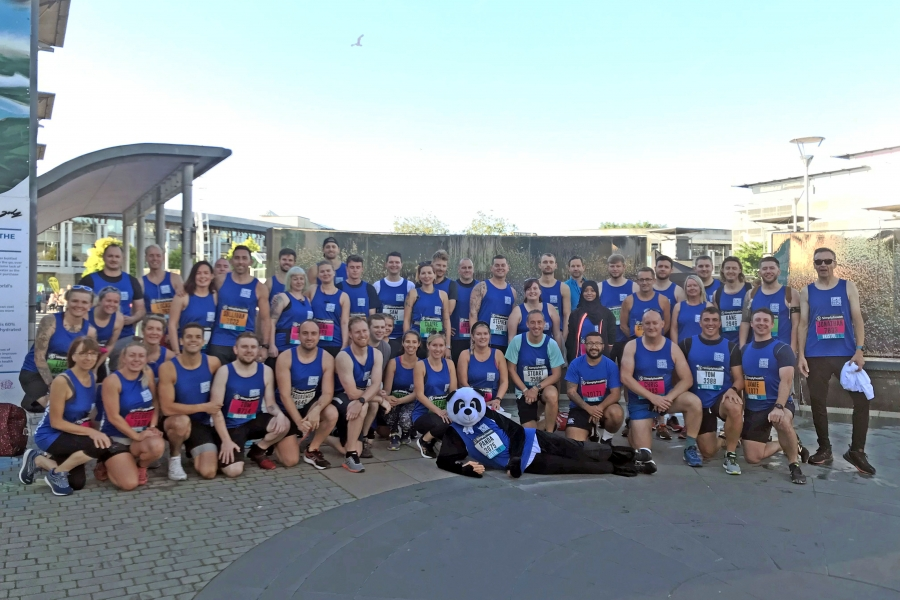 over 80 bristol half marathon runners for Empire Fighting Chance