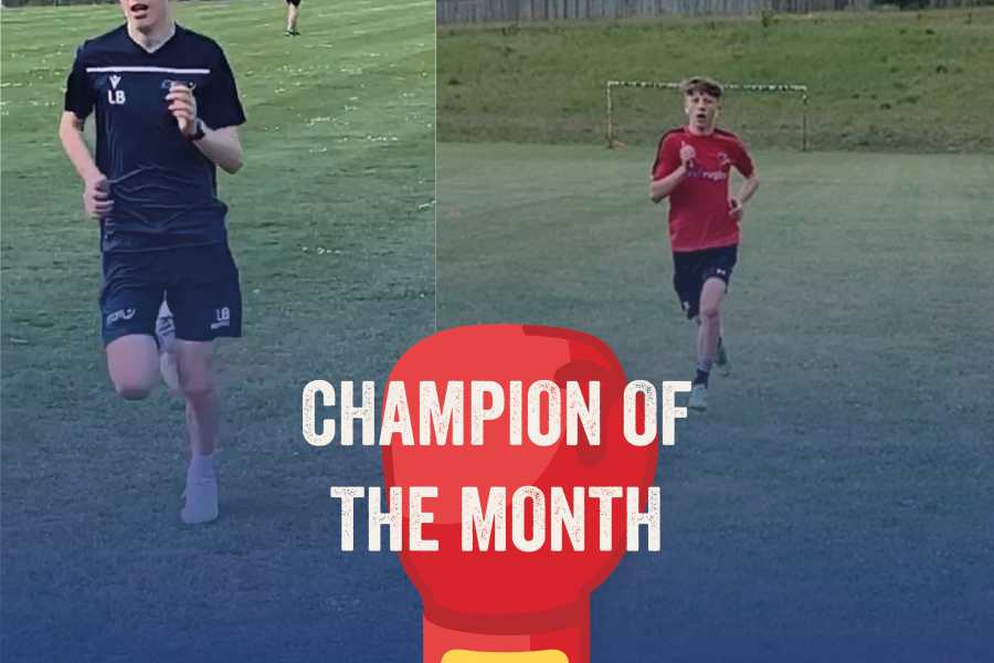 Llewelyn Champion of the month June